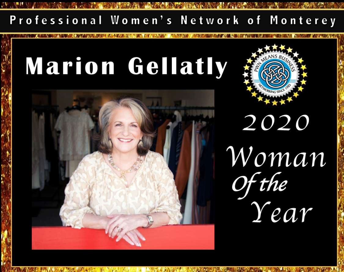 2020 Woman of the Year Marion Gellatly