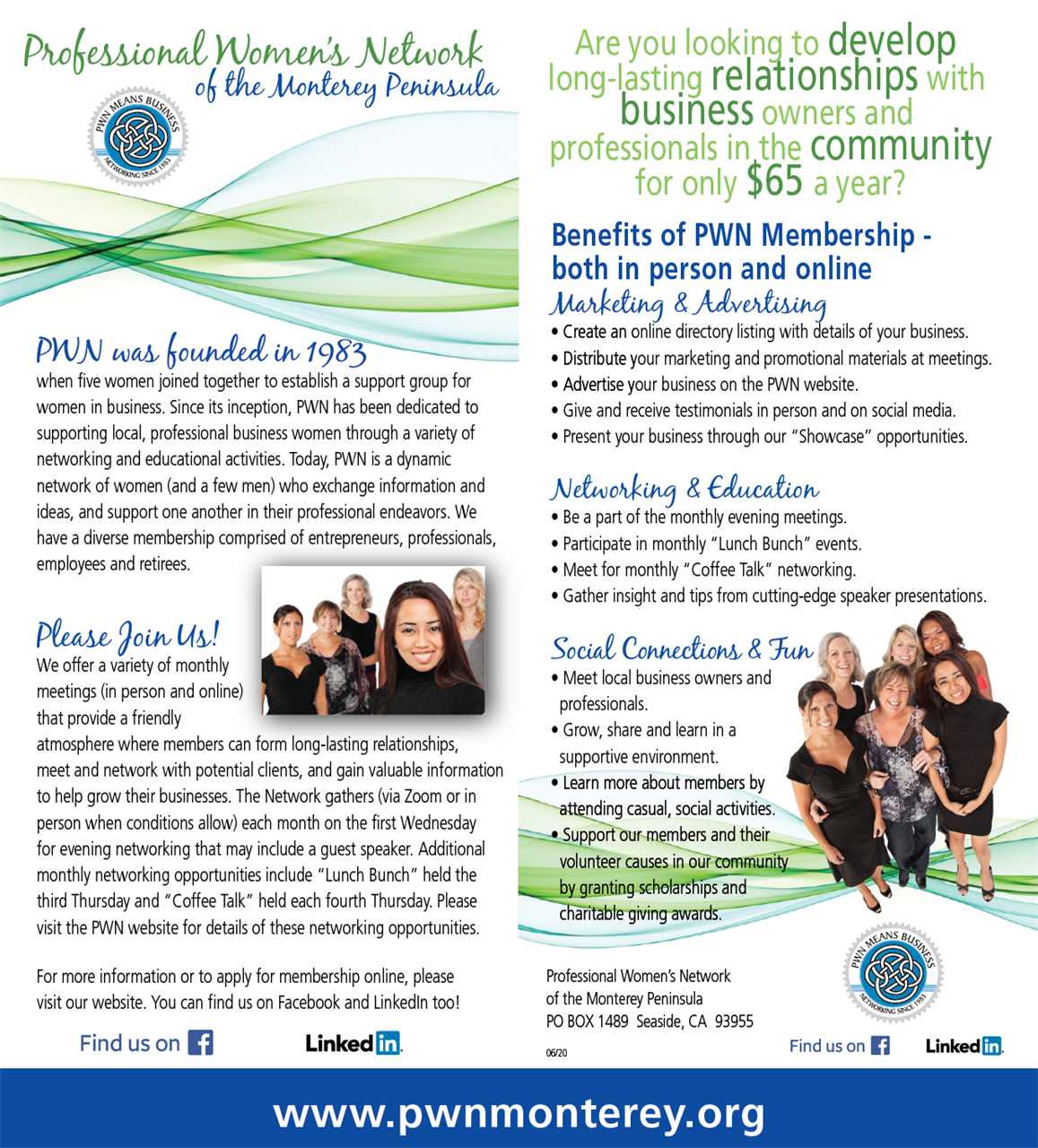 Professional Women's Network of the Monterey Peninsula